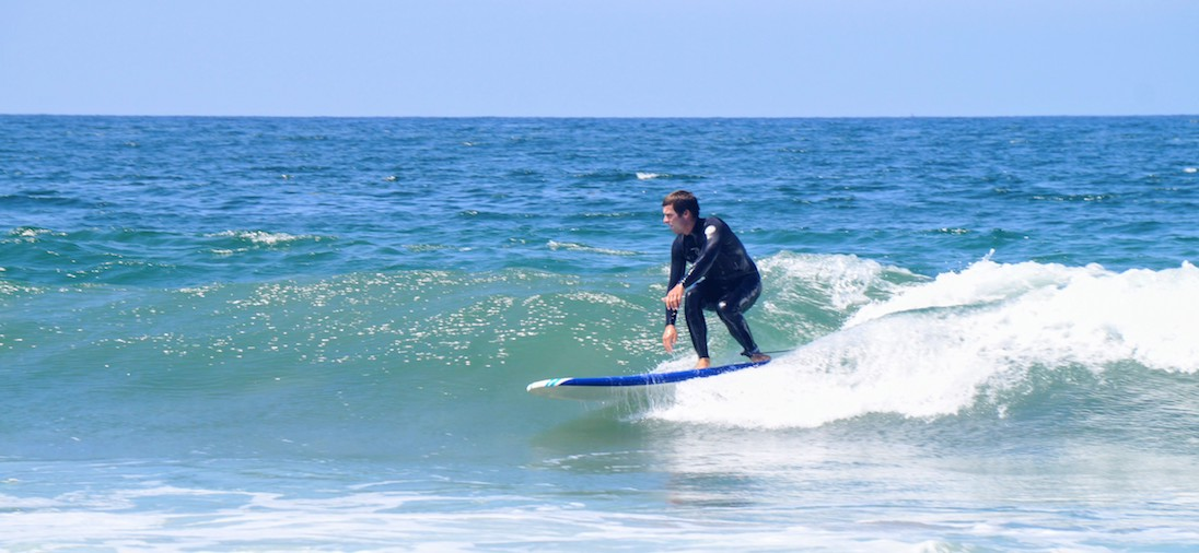 Learn to Surf LA private surf lessons in Los Angeles, Santa Monica, Venice, Manhattan Beach, and Malibu