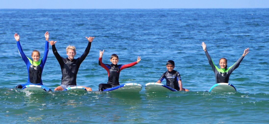 Learn To Surf La Camp Venice Manhattan Beach Santa Monica