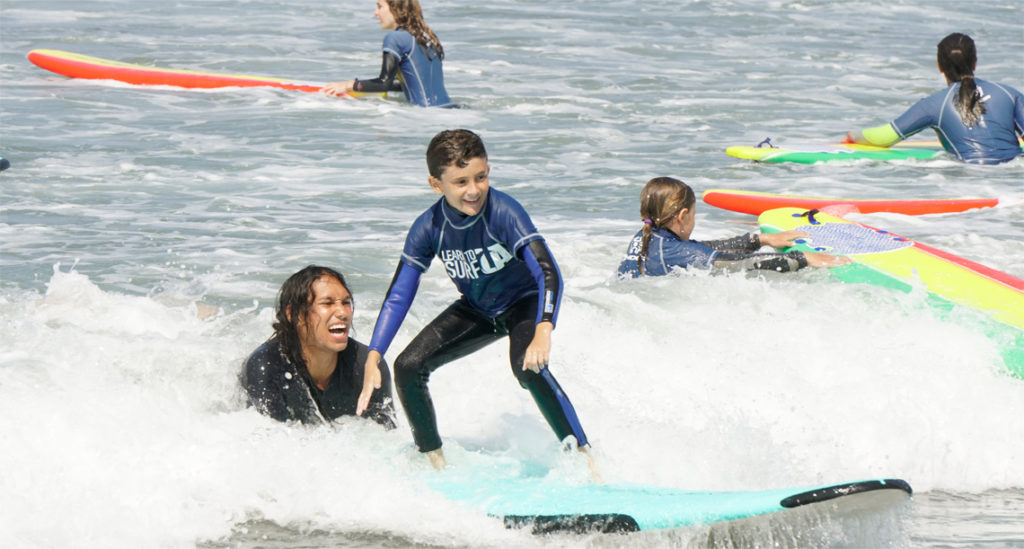 surf school, surf camp, manhattan beach, el porto
