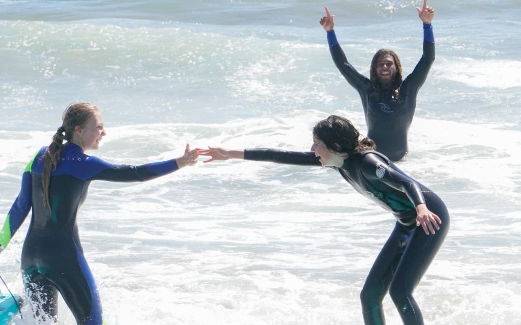 Manhattan Beach Surf Lesson