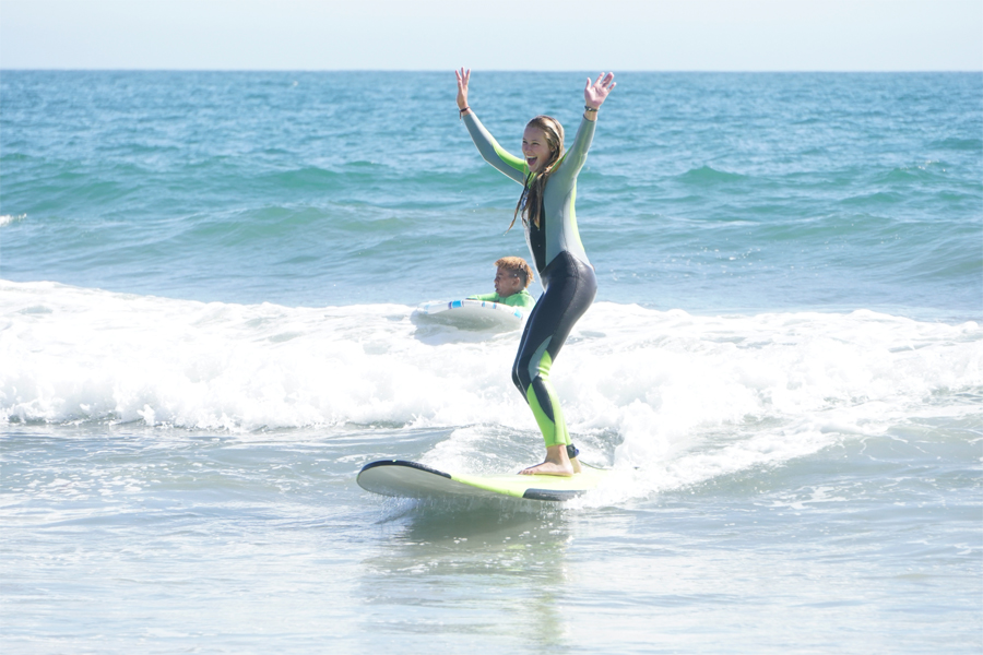 santa monica surf lessons, surfboard rentals, surf school